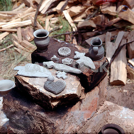 Trypillian souvenirs from clay