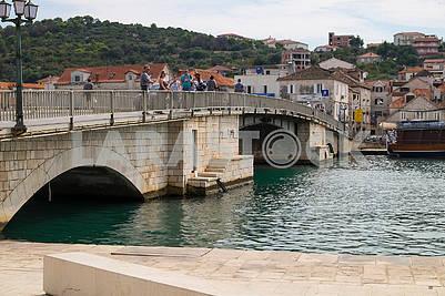 Old bridge in Trogir