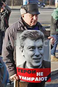 The anniversary of the murder of Boris Nemtsov.