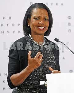 Condoleezza Rice spoke in Kiev