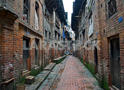 Streets of ancient Bhaktapur