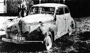 German car Opel Capitan
