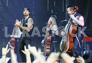Musical band Apocalyptica