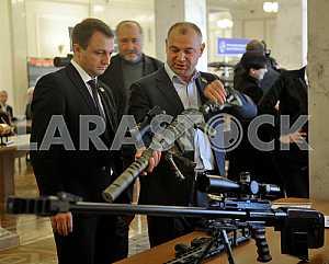 Exhibition of Arms in the Verkhovna Rada