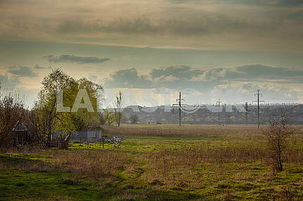 Landscapes of the Donetsk region