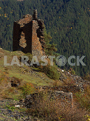 Ruins of Keselo Fortress, Georgia