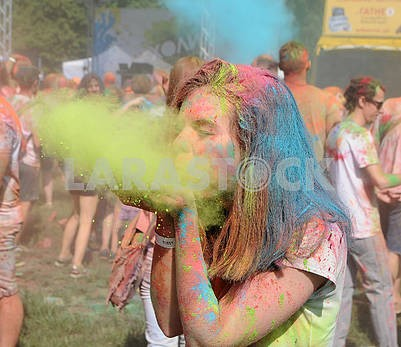Festival of colors Holi