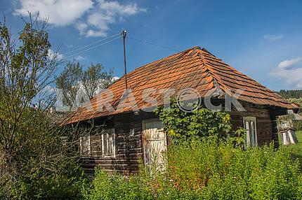 Izki village. Transcarpathian region, Ukraine