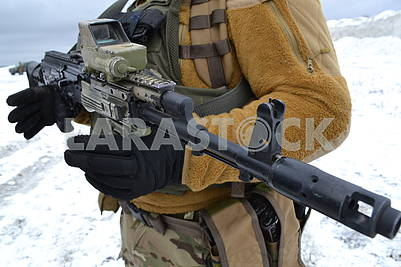 Soldiers of the Special Operations Forces of the Armed Forces of Ukraine