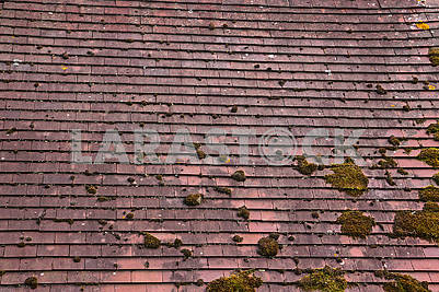 Terracotta tiled roof