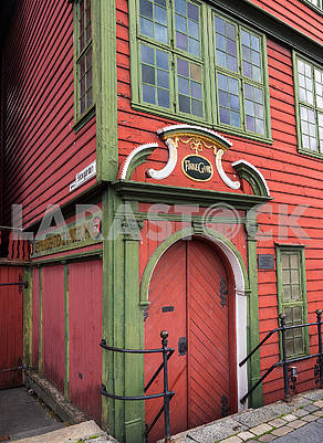 Wooden house in Bergen
