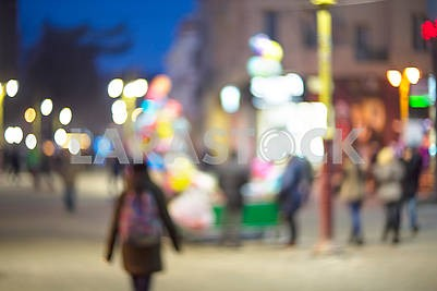 picture with defocused effect blur Lenses