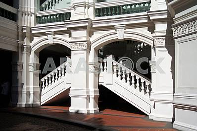 Singapore. Detail of building