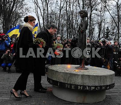 Petro Poroshenko and Maryna Poroshenko