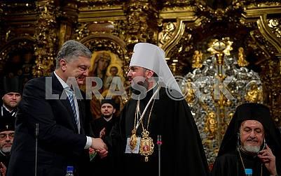 Petro Poroshenko, Metropolitan Epiphanius