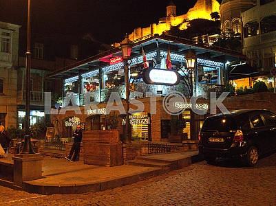 Cafe on Meydan Square