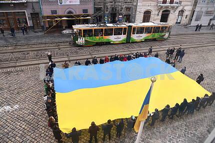 Celebrating the student's day in Lviv