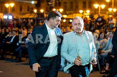 Vladimir Groisman and Viktor Andrienko