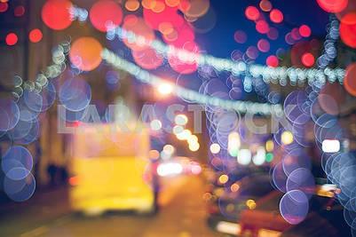 picture with defocused effect blur Lenses