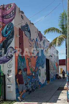 Kitchen and Bar Winwood. Miami