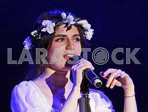 A singer Khristina Soloviy