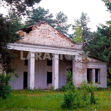 Abandoned house near Chernobyl Culture