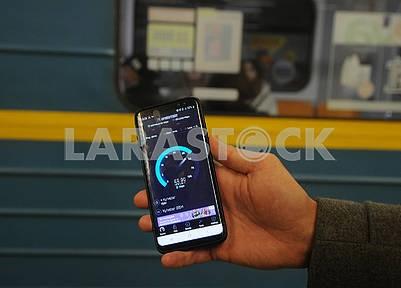 Демонстрация работы 4G на смартфоне