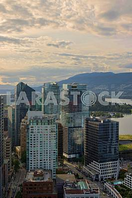 Photos aerial view of Vancouver, Canada