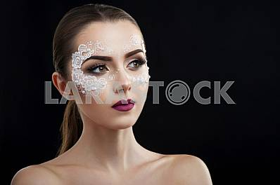 Makeup beauty shots