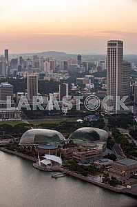 Singapore: Esplanade theaters