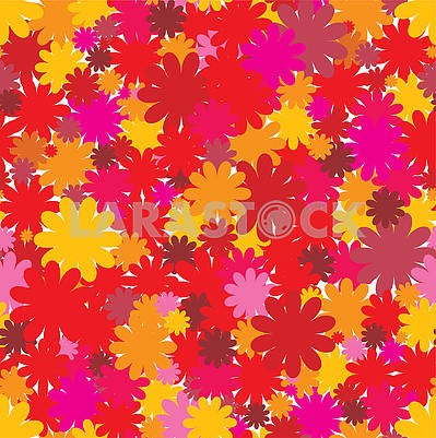 Floral seamless background, part 3