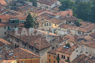 View of Verona from the bell tower
