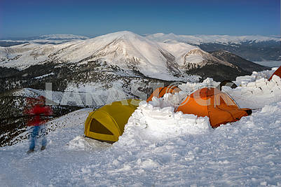 New Year camp climbers Ukraine