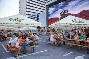 American Festival in Kiev - Ukraine 15-16 August 2015 - Stock image