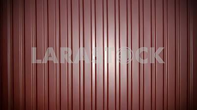 Фон из фиолетового гофрированного металлического листа