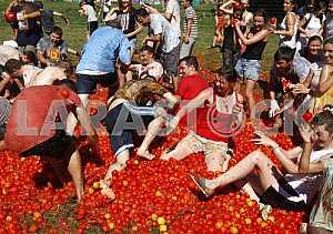 Festival Tomatina 2016 in Kiev