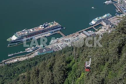 Cruise ship. Juneau, Alaska