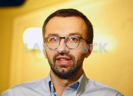 Serhiy Leshchenko,horizontal portrait