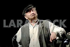 The actor Bogdan Stupka