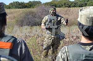 Training in case Sapper