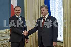 President of Poland Andrzej Duda