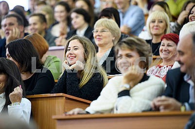 Students in Ternopil