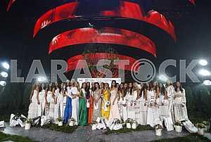 Beauty contest Miss Ukraine-2016 in Kiev