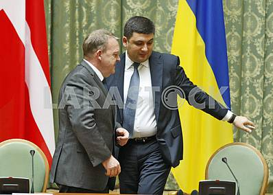 Meeting of Prime Ministers of Ukraine and Denmark in Kiev