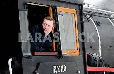 Steam locomotive driver