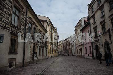 The enigmatic streets of the old Krakow
