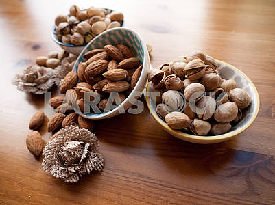Bowls of Nuts