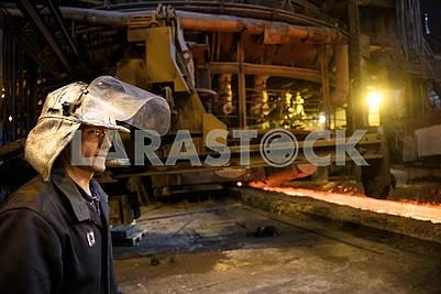 Metallurgists at Azovstal
