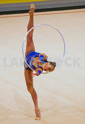 Anna Rizatdinova on the Deriugina Cup