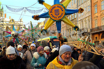 Celebrating Christmas in Lviv
